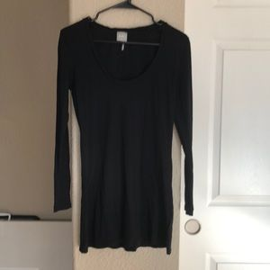 bobi black long sleeve top